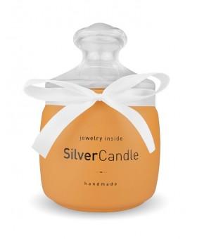 Świeca z biżuterią Creamy Carmel