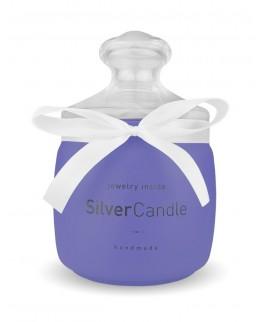 Świeca z biżuterią Blueberry Smoothie