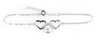 Wzór 1 srebrnej bransoletki w świecy Happy Christmas