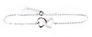 Wzór 3 srebrnej bransoletki w świecy Happy Christmas