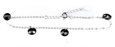 Wzór 4 srebrnej bransoletki w świecy Blueberry Smoothie