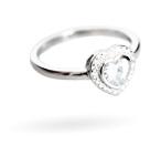 Wzór 1 srebrnego pierścionka w świecy Happy Christmas
