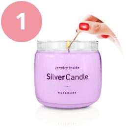 Rozpakowywanie i rozpalanie świecy SilverCandle