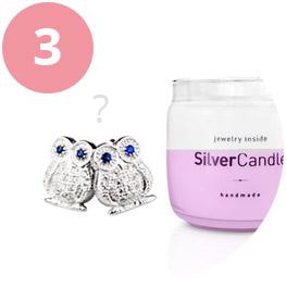 Wyciąganie biżuterii ze świecy